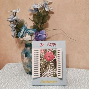 New Be Happy Summer 4×6Frame..